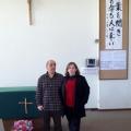 eu e Roberto na Igreja