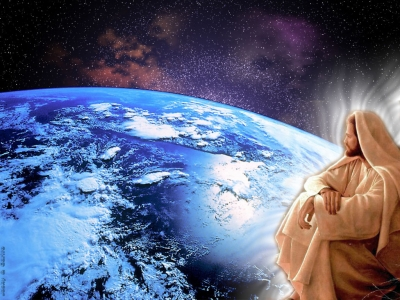 jesus observa o mundo