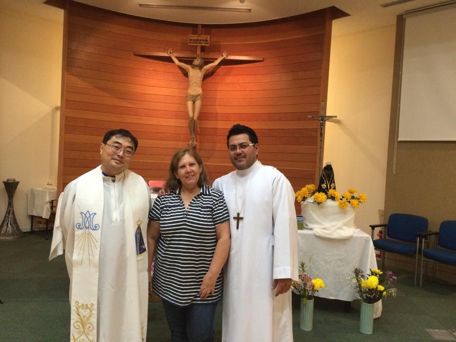 Padre Fujita e Adriano